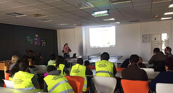 Plataforma Central Iberum celebra una Jornada Ambiental con los empleados de Urban, Toyota y los alumnos de la UCLM