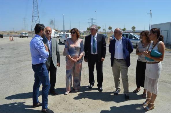 La consejera de Economía, Empresas y Empleo, Patricia Franco, visita la Plataforma Central 'Iberum' en Illescas