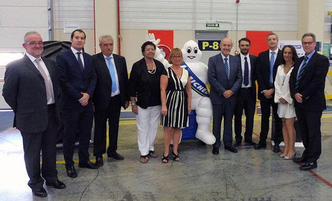 Michelin inaugura su almacén de  52.000 m<sup>2</sup> en Plataforma Central Iberum, que optimizará su capacidad logística en España y Portugal