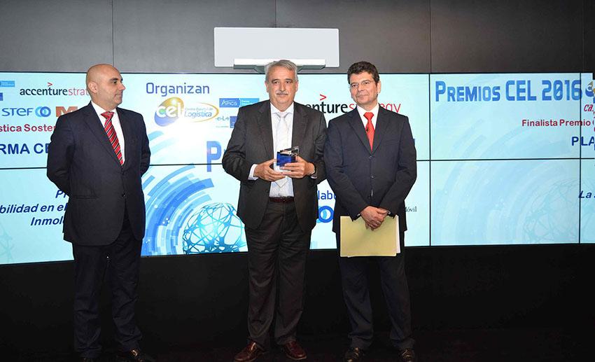 PLATAFORMA CENTRAL IBERUM FINALISTA DE LOS PREMIOS CEL 2016