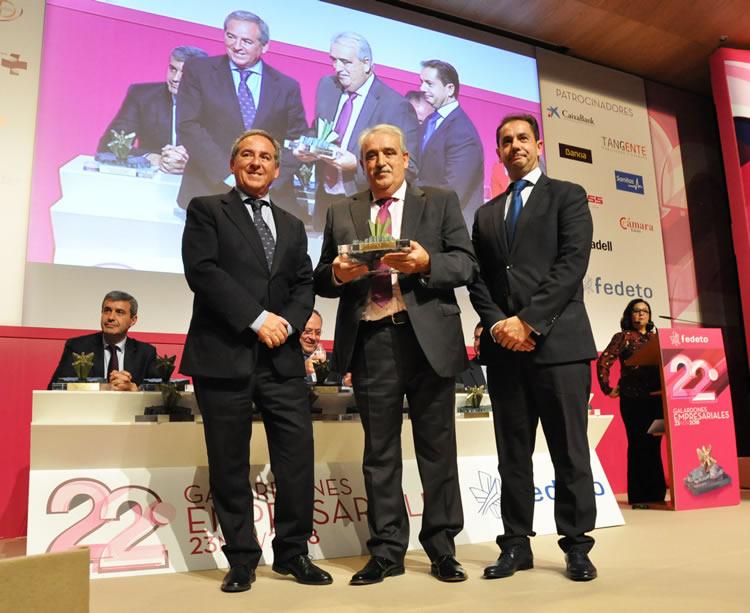 Urban Castilla-La Mancha galardonada como empresa del año por la Federación de Empresarios de Toledo (FEDETO)